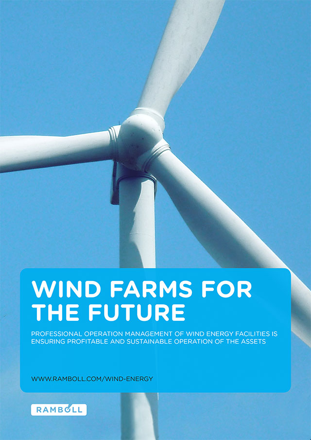 Professional operation management of wind energy facilities is ensuring profitable and sustainable operation of the assets