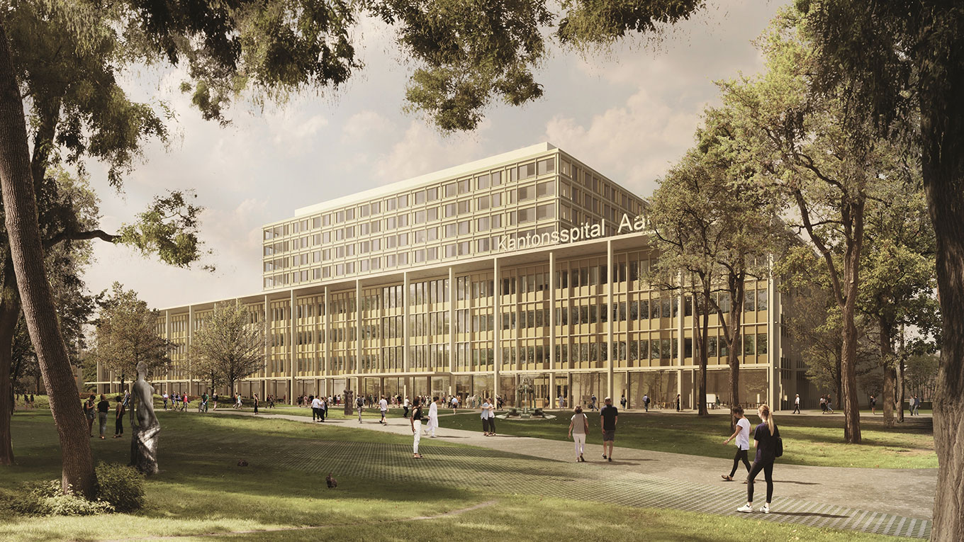 New Cantonal Hospital Aarau