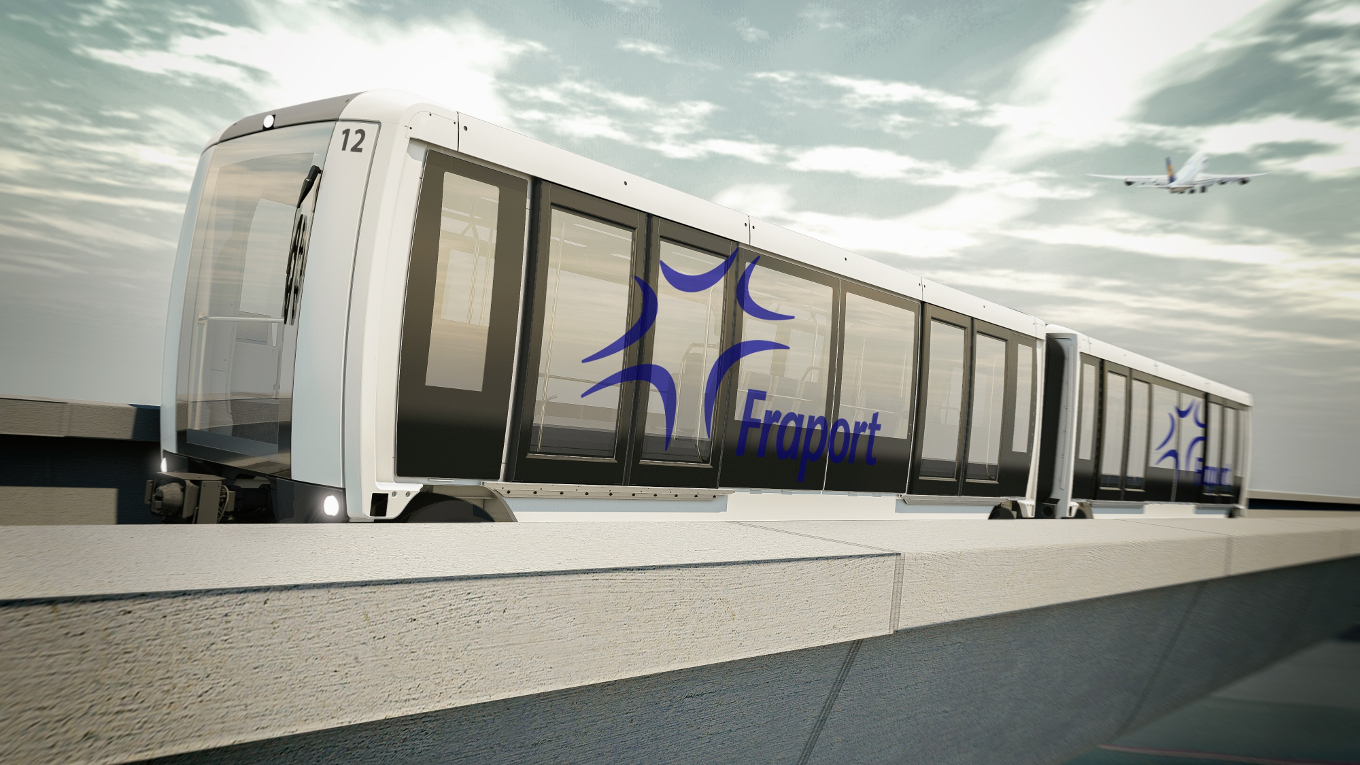 Driverless people mover system for Frankfurt Airport