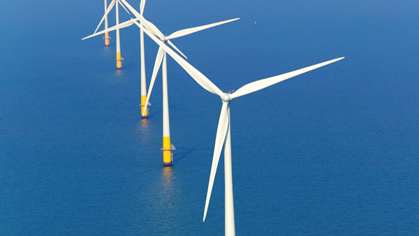 Offshore wind farm. Photo: Chris Laurens
