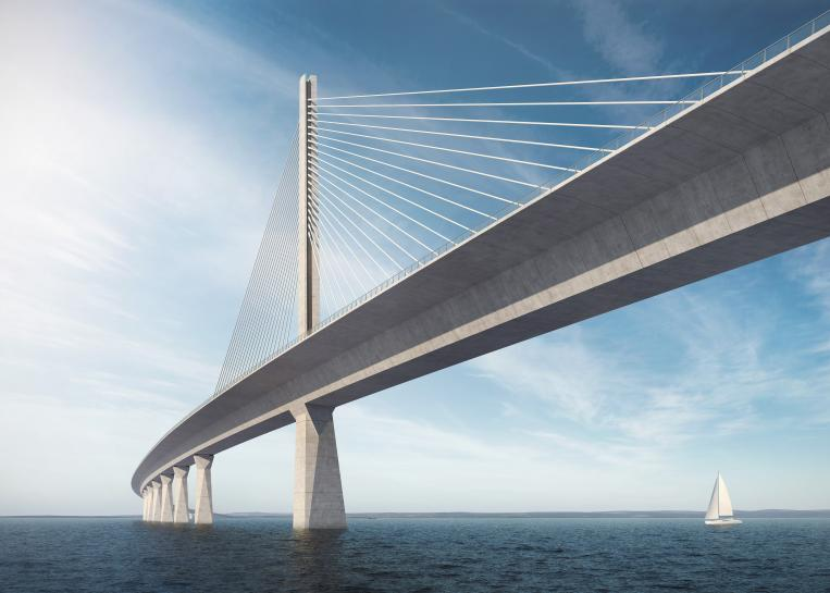 The new Storstrøms Bridge. Image: The Road Directorate