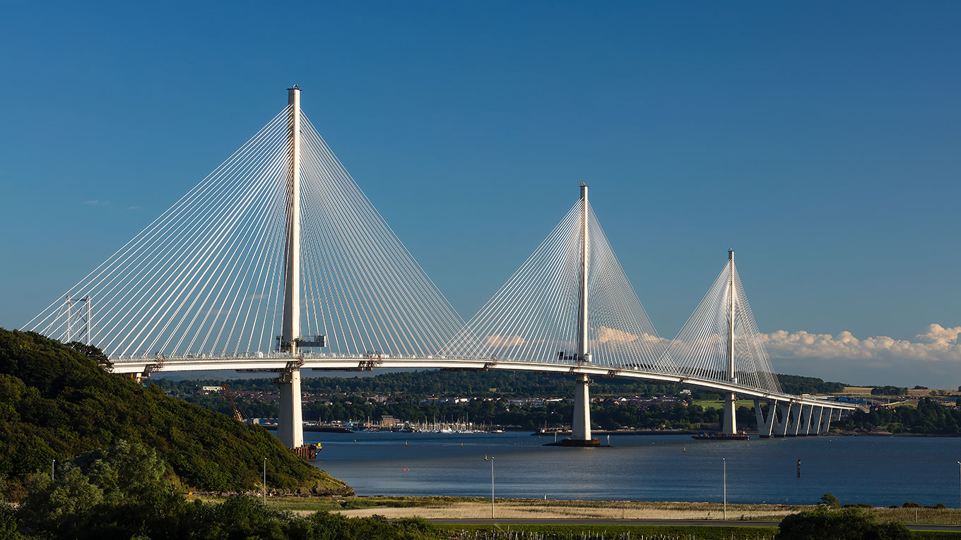 Construction of the Queensferry Crossing in Scotland significantly reduced spillage that can be hazardous to the environment and marine eco systems