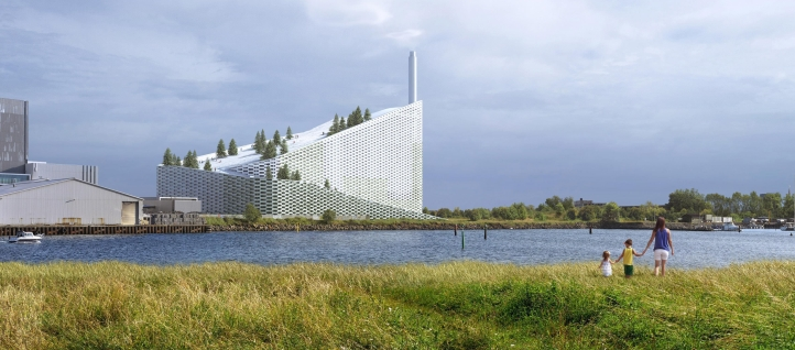 Amager waste-to-energy-plant by BIG