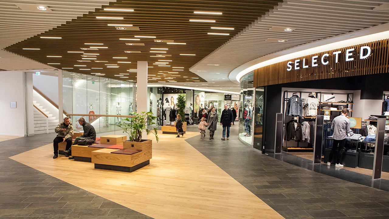 Lighting Design in Frederiksberg Shopping Centre