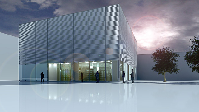 Visualisation of aseptic cGMP/GMO production facility for Bavarian Nordic