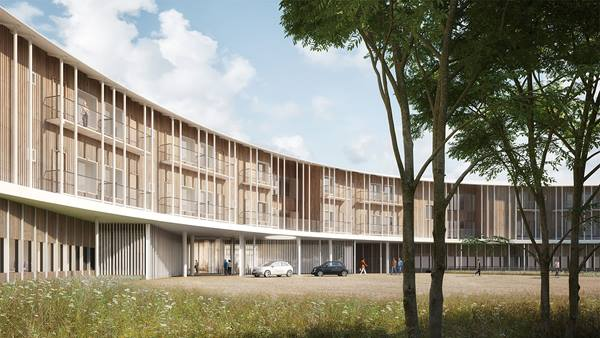 Digitalisation and automation are an integral part of the design process at the New North Zealand Hospital in Hillerød, north of Copenhagen.