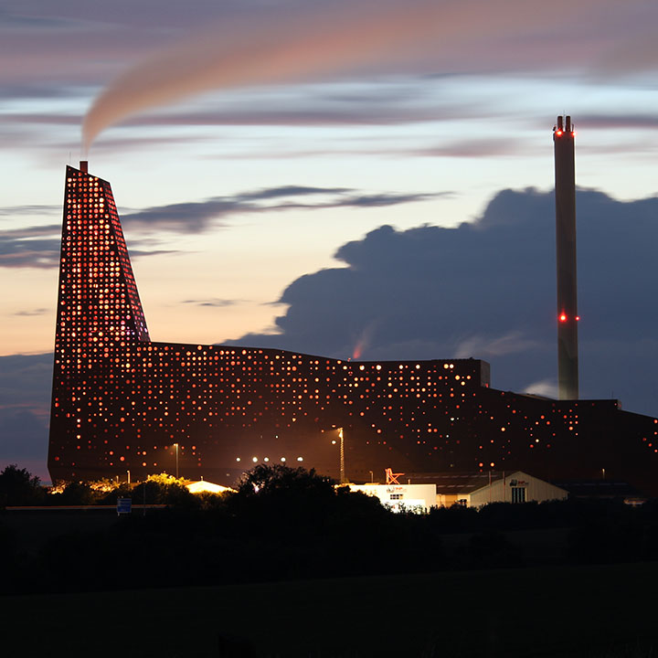 Waste-to-energy unit at KARA/NOVEREN in Roskilde, Denmark