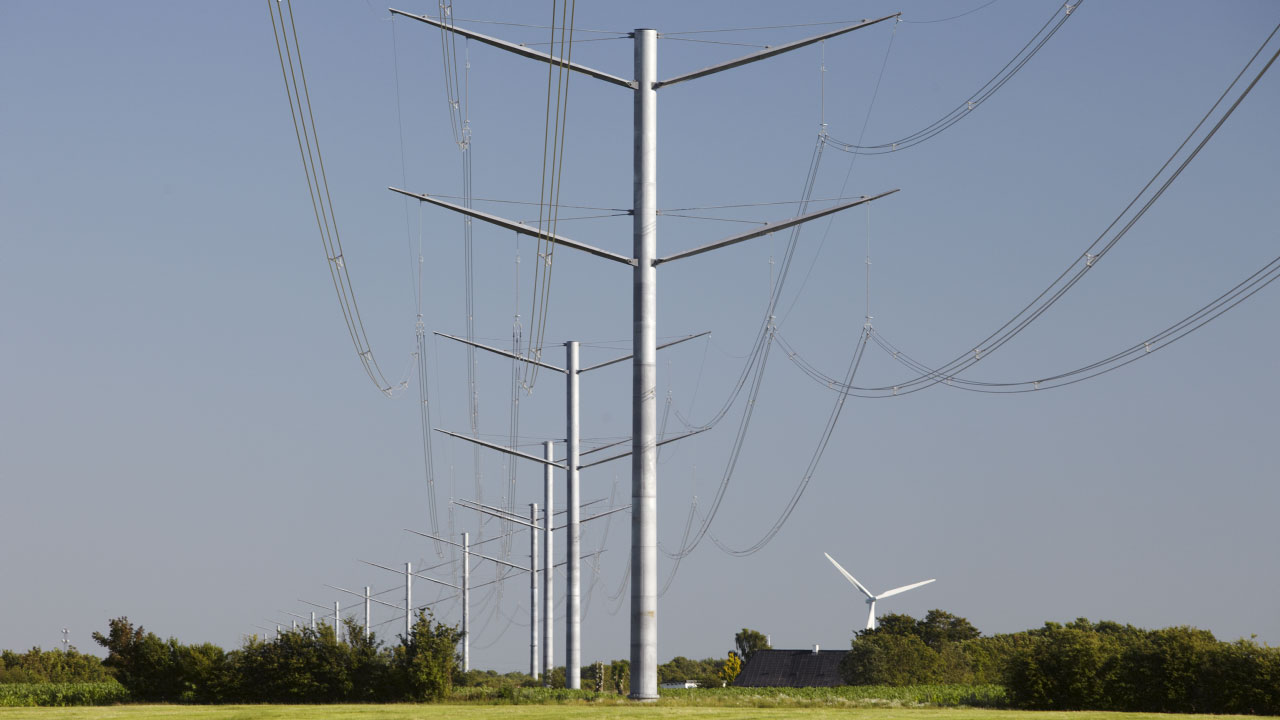 Structural design of towers for overhead transmission line