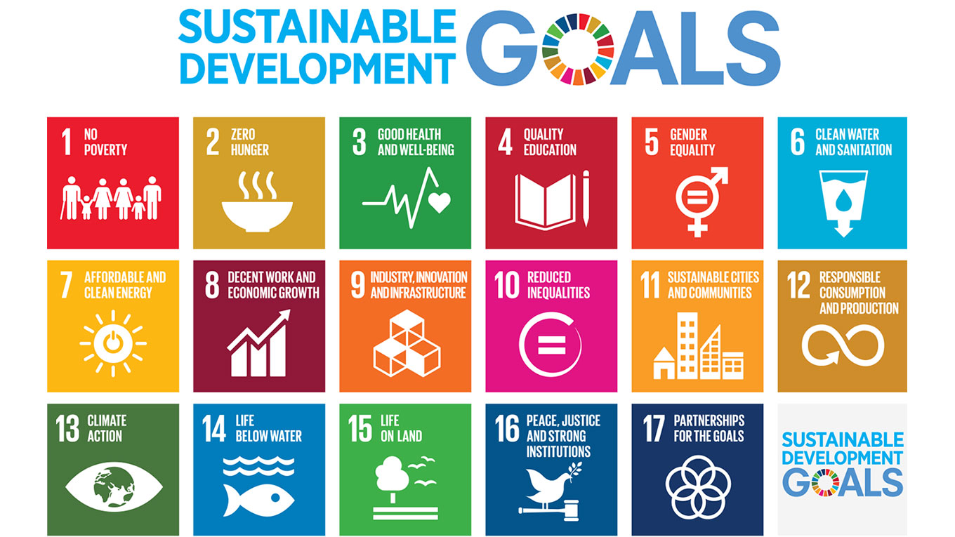 Sustainable development goals poster