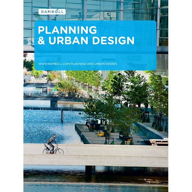 Planning urban design ramboll group Urban planning and design for the american city