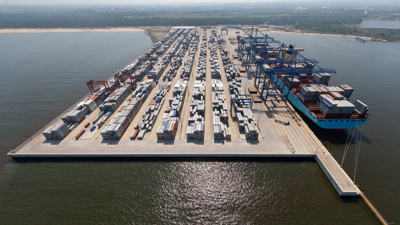 DCT Gdansk Container Terminal