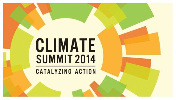 UN Climate Summit 2014 logo
