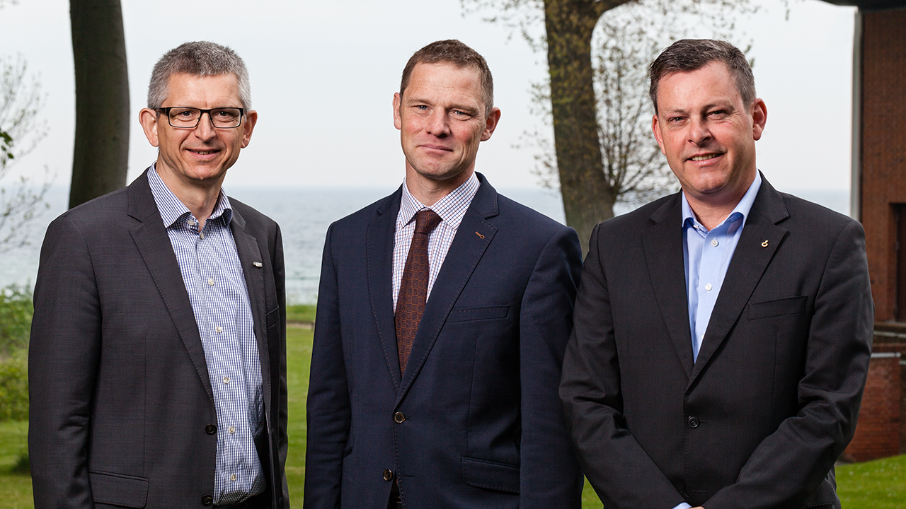 Left to right: Sten Brødbæk from Semco Maritime, Anders Nymann from Hess Denmark, and John Sørensen from Ramboll Oil & Gas