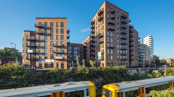 Dalston Works, the world's largest cross-laminated timber (CLT) building