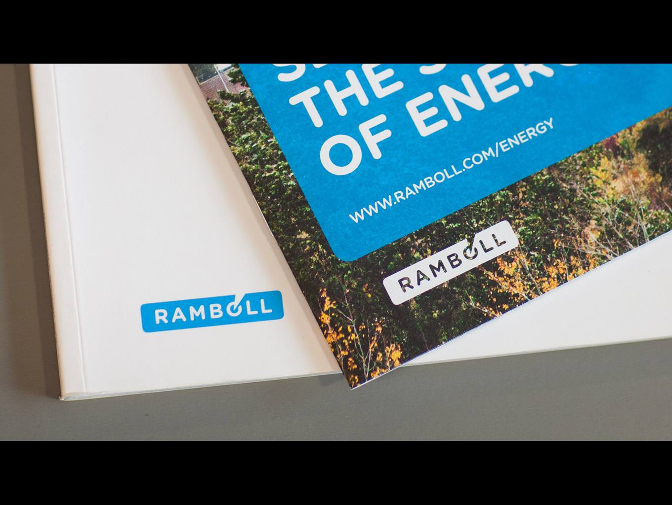 Material with Ramboll logo