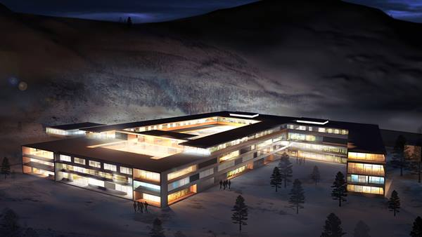 The new Narvik Hospital