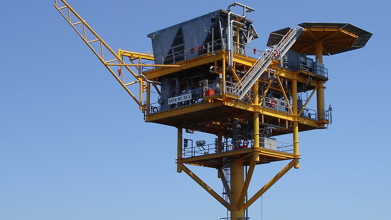 Mustang Unmanned Wellhead Platform For The Gulf Of