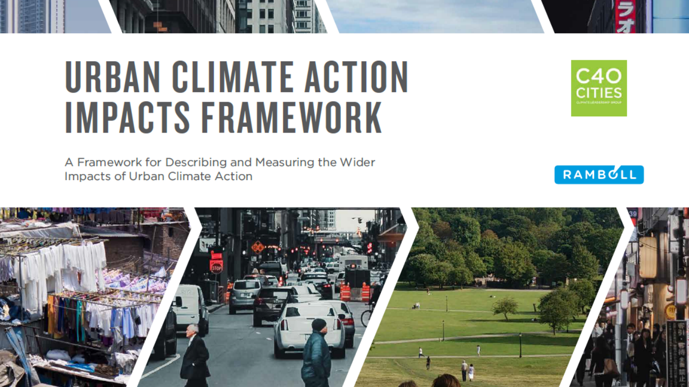 URBAN CLIMATE ACTION IMPACTS FRAMEWORK