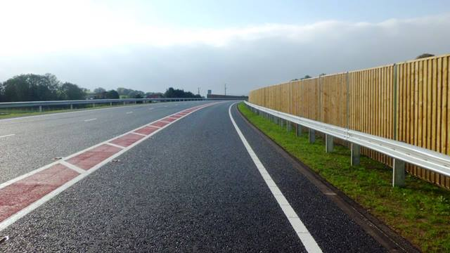 Ramboll. The 2+1 lane arrangement is clearly shown on this stretch of the A31 Magherafelt bypass between Castledawson and Moneymore, Northern Ireland