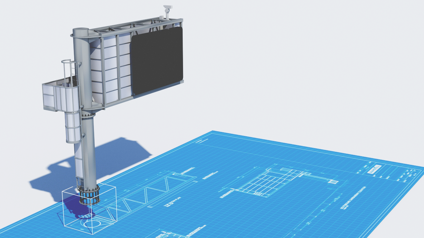 Ramboll gantry 3D model generated with an innovative design engineering process