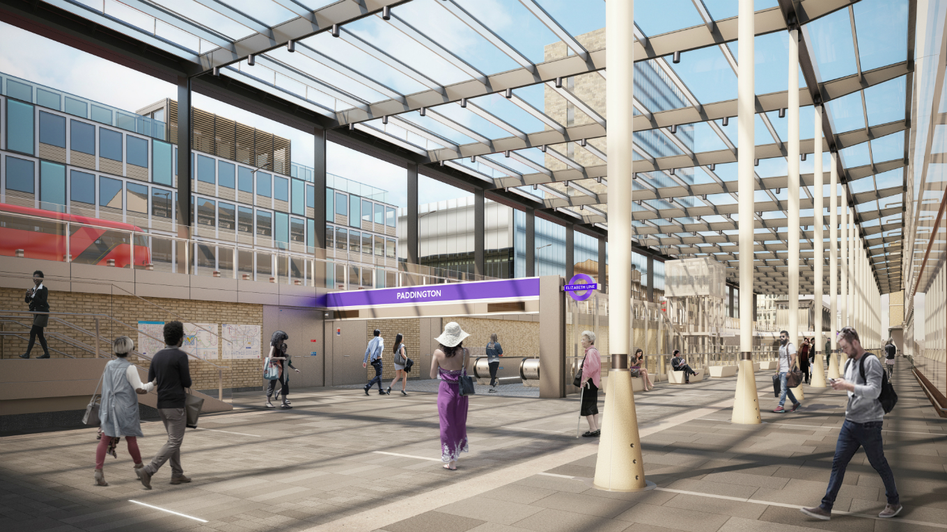 1360x765 569n80 credit westonwilliamsonpartners - Crossrail Paddington opens - only just!