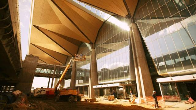 Ramboll. Pulkovo Airport under construction