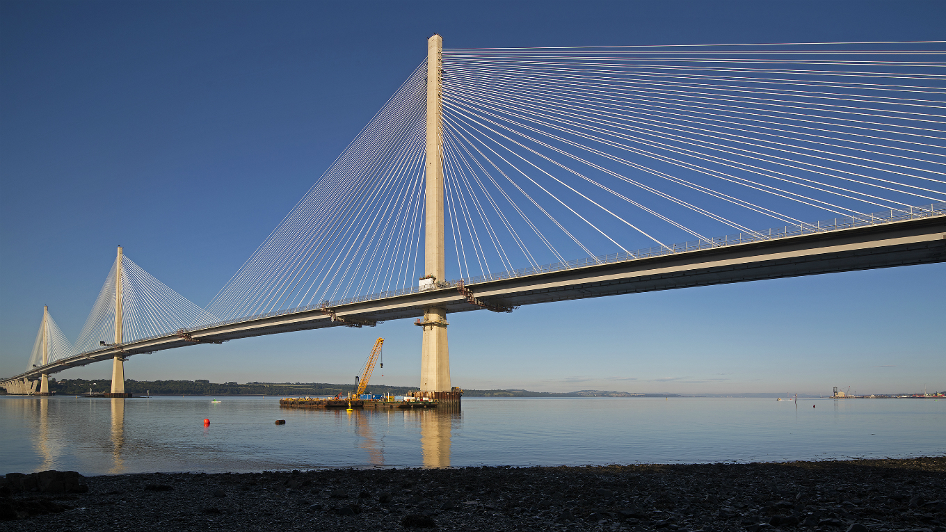 Ramboll: Queensferry Crossing. Image courtesy of Transport Scotland