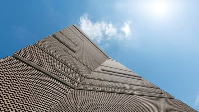 Daniel Shearing. From its one of a kind geometric structure to its striking brick façade, every facet of Tate Modern's extension has been planned and engineered with staggering accuracy.