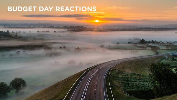 Ramboll. Budget Day Reactions. A477. Image: Simon West Photography