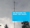 Read our brochure on how we measure the wind with met masts