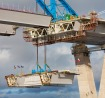 Queensferry Crossing deck completion. Courtesy of Transport Scotland