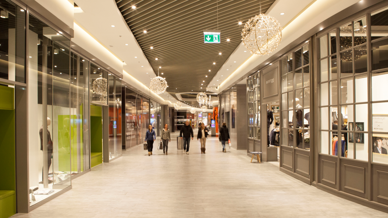 Ramboll lights up copenhagen designer outlet ramboll group for Design outlet