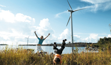 Wind as an energy source grows at 20-30% annually
