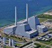 Avedore Power Plant - aerial photo