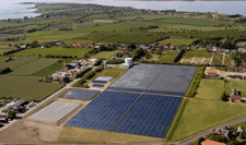 The solar energy heating plant at Marstal District Heating.