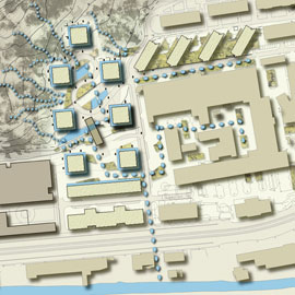 We had the opportunity to develop a comprehensive water management solution for the Krokslätt development