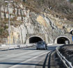 E 18 rock tunnel in Norway