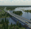 Graphic of motorway E18 - copyright Finnish Transport Agency
