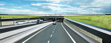 Tunnel Engineering: Previsualisation of the Fehmarn Belt immersed tunnel