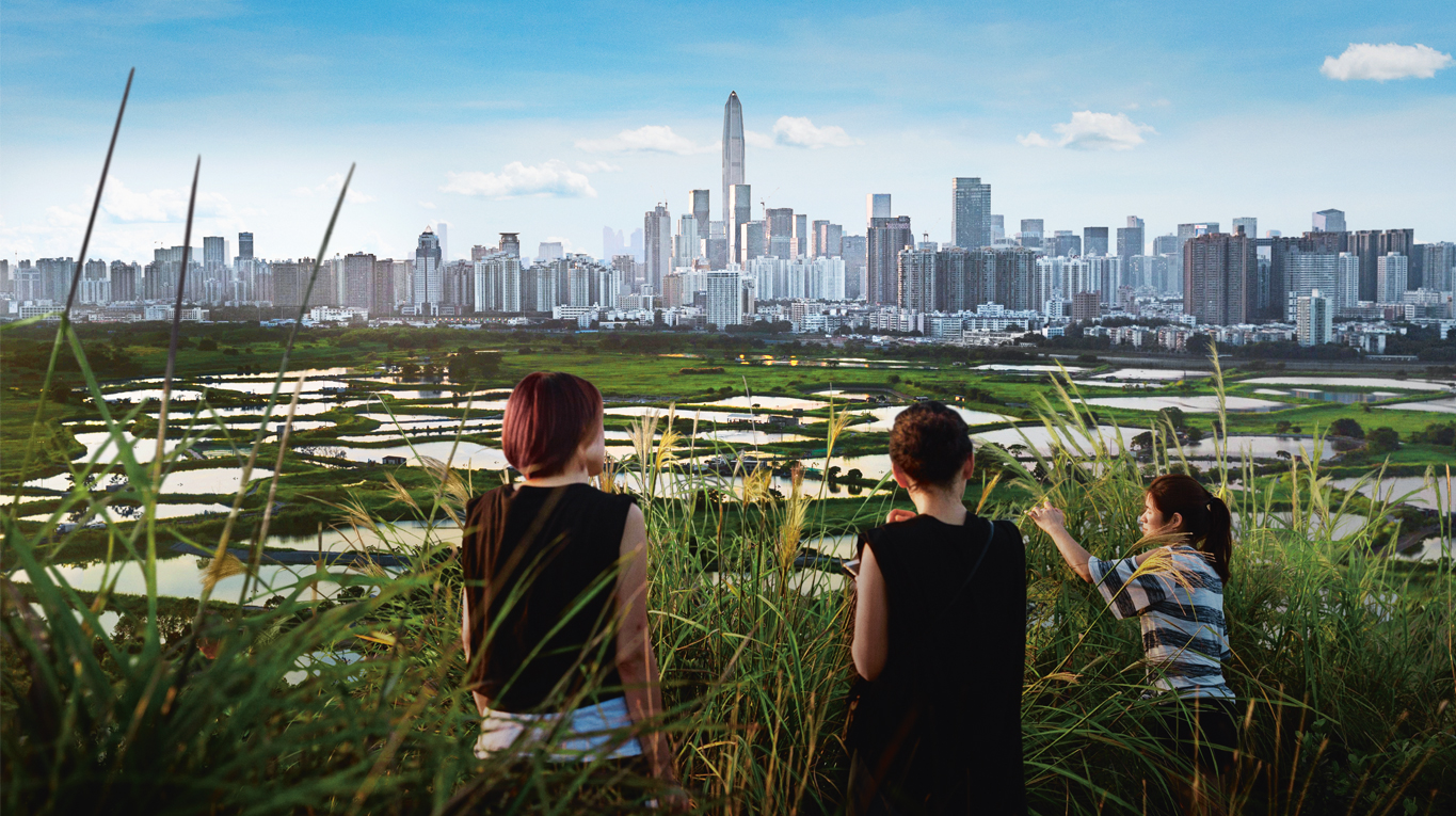 Cover of Corporate Responsibility Report 2016: Many Asian cities face issues with urban heat island effects and poor ambient air quality. By using digital models, Ramboll air quality experts are able to identify how the design and placement of new buildings can be optimised.