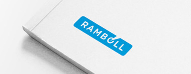 Ramboll's logo on report
