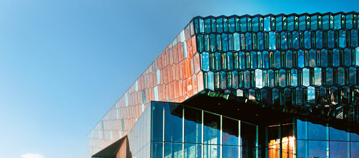 The Harpa Concert and Conference Centre in Reykjavik was created using what was then the world's largest 3D design model. Click for a detailed view. Image: Nic Lehoux