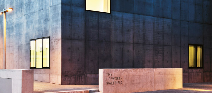 The Hepworth Wakefield is among the UK's largest art galleries outside London. Click for a detailed view. Image: Jaap Oepkes