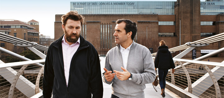 Ramboll's site engineer on Tate in dialogue with International Director of Arts and Culture, Anton Sawicki