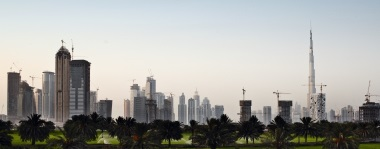 City and society management consultning. Picture: Dubai skyline