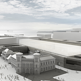 Ramboll has been selected to handle the engineering design of the new National Museum of Art, Architecture and Design in Oslo. Image: Statsbygg and Kleihues + Schuwerk Gesellschaft von Architekten mbH.