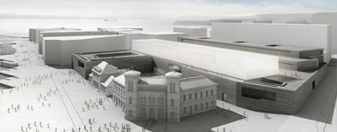 Ramboll was chosen as engineering consultant for the new National Museum of Art, Architecture and Design in Oslo. Image: Statsbygg and Kleihues + Schuwerk Gesellschaft von Architekten mbH.
