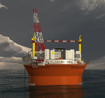 Image of a Goliat FPSO